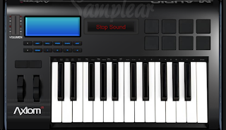 M - Audio | Axion 25 - Piano Virtual - Online