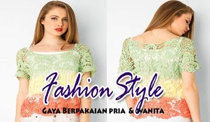 Model Baju Blouse Wanita Trend Terbaru 2015