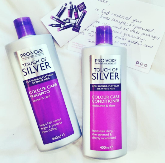 Pro:Voke Touch Of Silver Hair Care | Giveaway