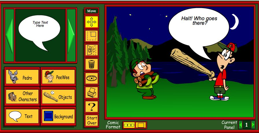 Comic Online Comic Maker Free