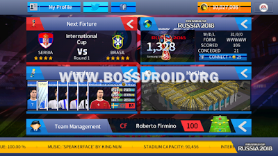 Download DLS Mod FIFA World Cup 2018 Russia Apk Data