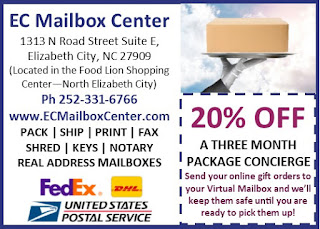 EC Mailbox Center - Albemarle Tradewinds