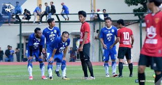 Persib Bandung Menang Tipis 1-0 atas FC UNY di Laga Uji Coba Kedua