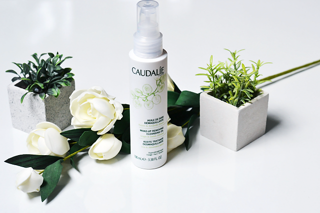Turn it inside out: Caudalie cleansing oil