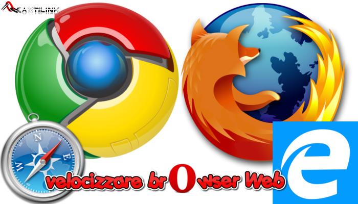 velocizzare browser web