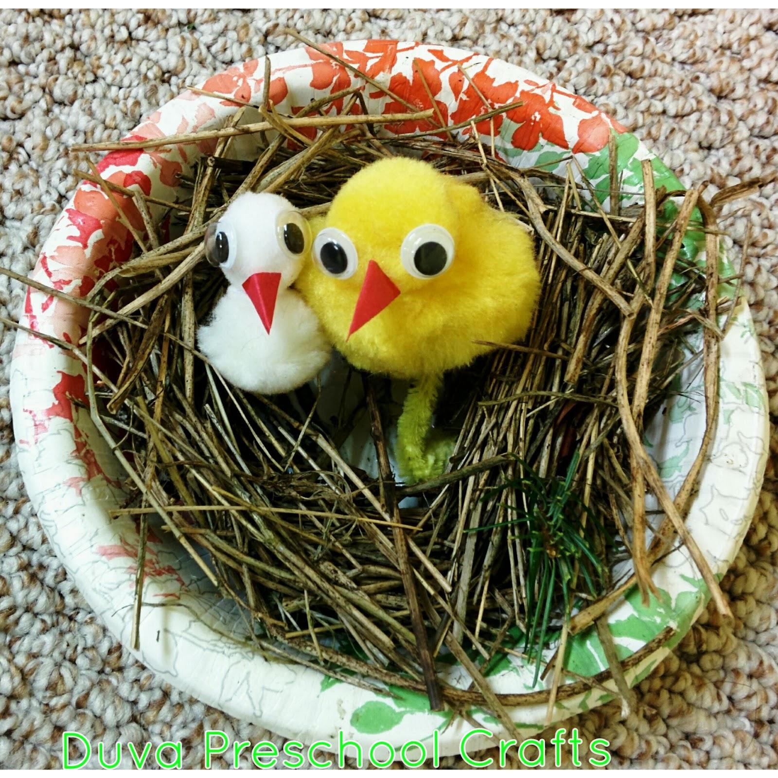 Duva Preschool Craft Ideas Bird Nest For Preschool Kids