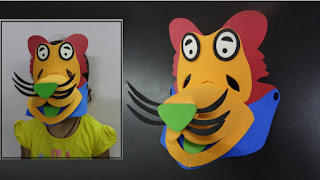 Paper Crafts: Lion Mask