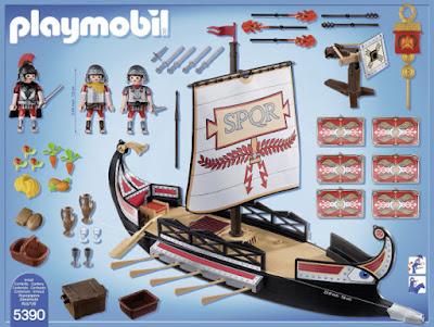 JUGUETES - PLAYMOBIL History : Historia  5390 Galera Romana | Barco  Edad: 6-12 años  Comprar en Amazon España