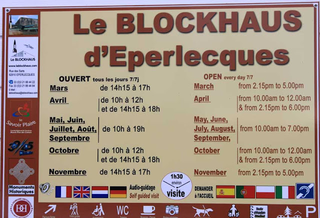 Information d'entrée du blockhaus