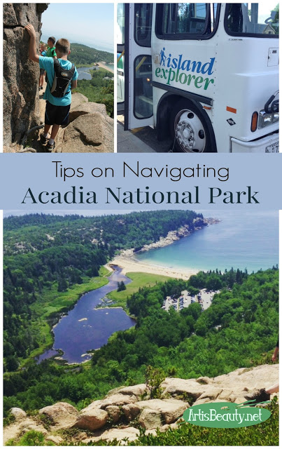 national park shuttle service island explorer hiking kids summer vacation travel wanderlus