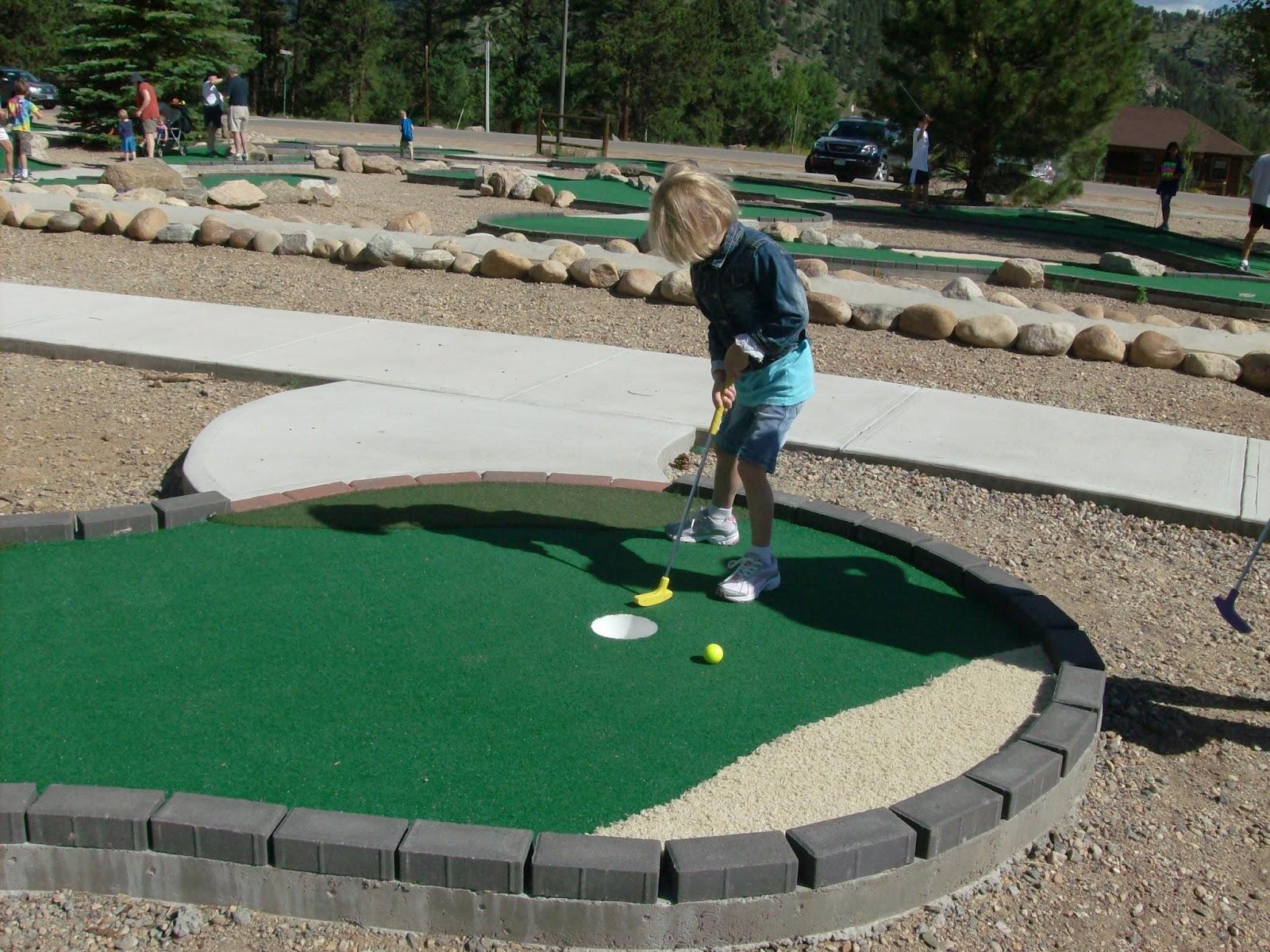 Explore Colorado Ymca Camp Putt Putt Mini Golf Course