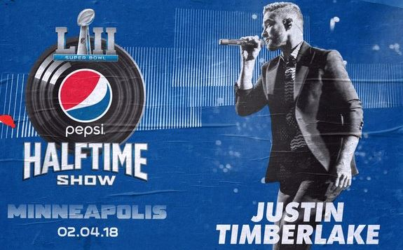 Justin Timberlake Super Bowl 2018 Half Time Show LII TV Schedule