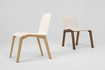 Diseño de silla moderna