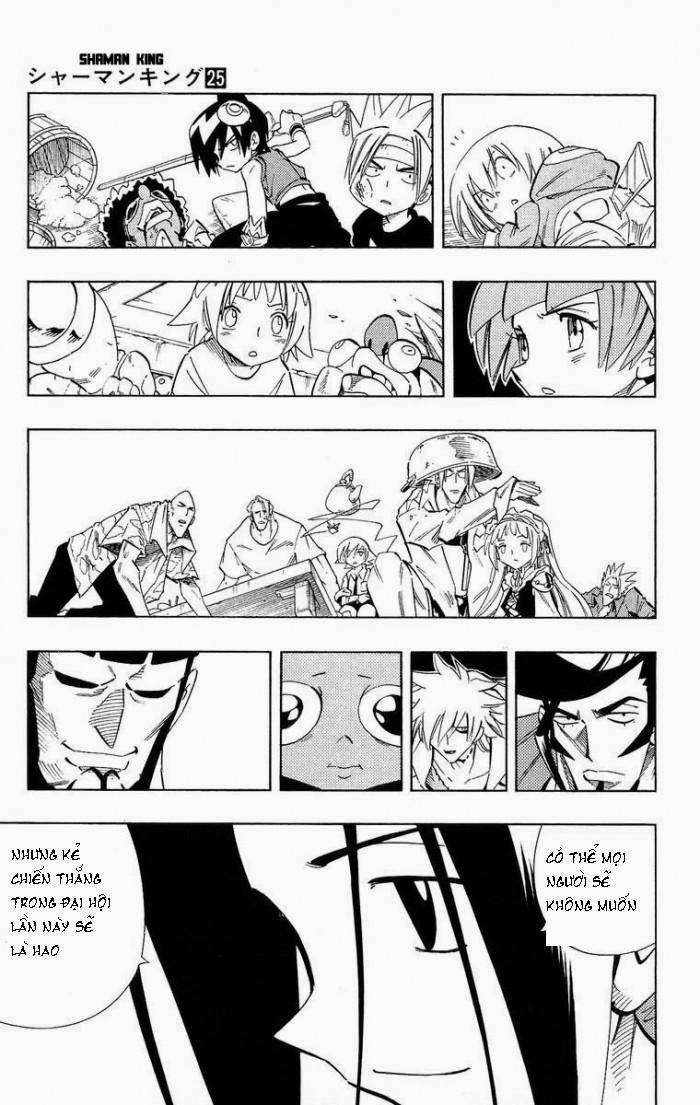 Shaman King [Vua pháp thuật] chap 219 trang 11
