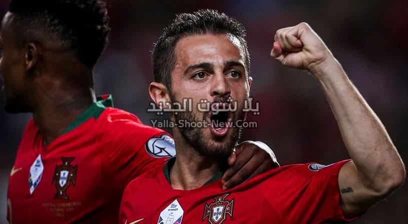 بثلاث اهداف فوز كاسح لمنتخب البرتغال على منتخب لوكسمبرج في التصفيات المؤهلة ليورو 2020