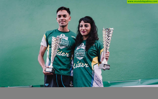 Yoel de Paz y Ana Begoña González se proclaman campeones de Canarias en una edición de récord de la Vertical Proís de Candelaria
