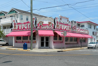 Laura's Fudge Shop in Wildwood New Jersey