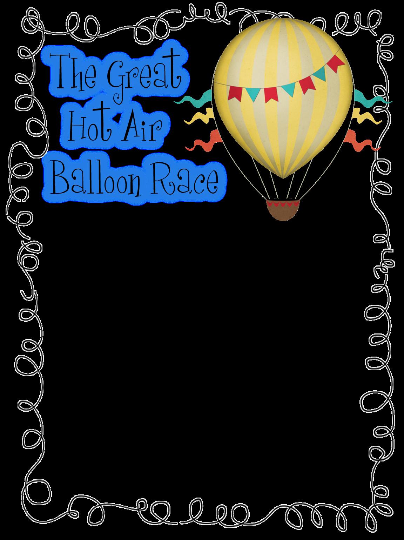 First Grade Wow Hot Air Balloon Unit