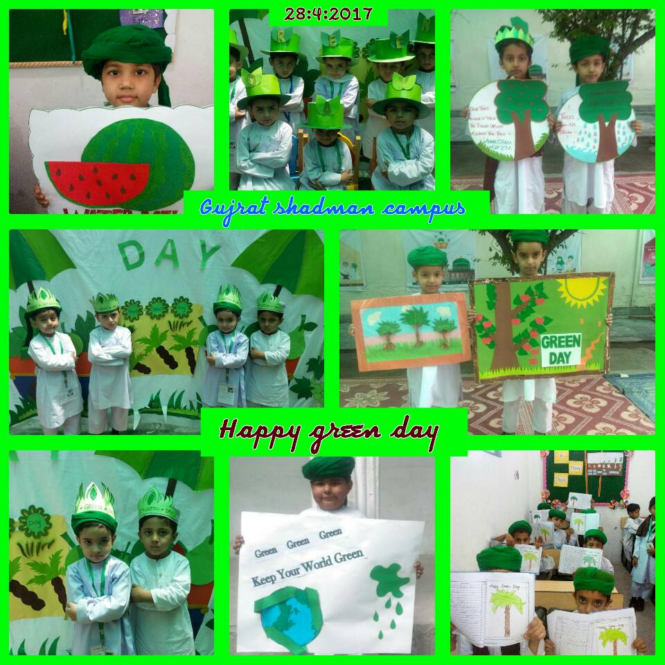 Annual Green Day Celebrations By Kids At Dar Ul Madinah