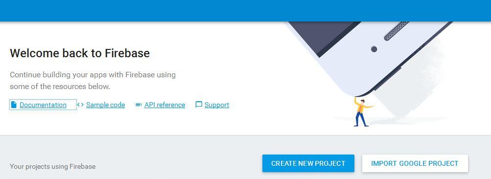 Mendaftar Akun / Project di Firebase Console ~ Oddsay