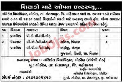 Teachers Job 11-04-2019
