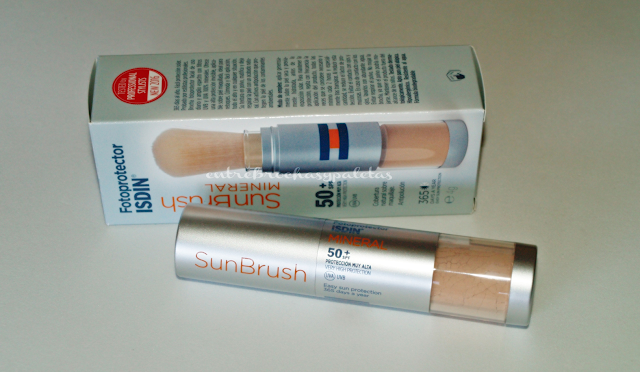 sun brush isdin