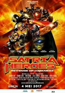 Download Film Satria Heroes: Revenge of Darkness (2017) Bluray Full Movie
