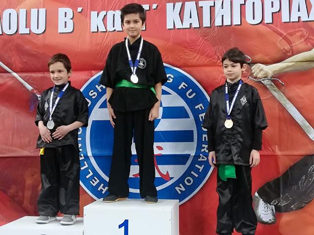 Οι σχολές Choy Lee Fut Ναυπλίου και Άργους στο 20ο Πανελλήνιο Πρωτάθλημα Κουνγκ φου