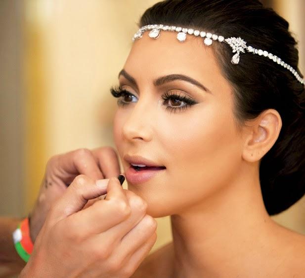 Melhores maquiagens de festa da Kim Kardashian