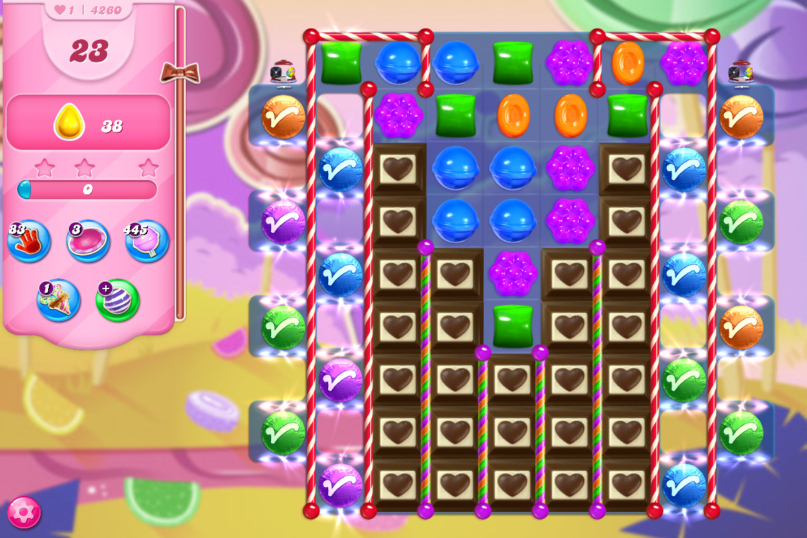 Candy Crush Saga level 4260