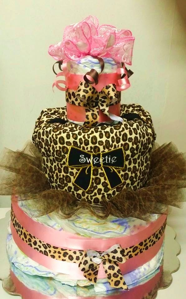 Adriana S Creations Custom Diaper Cakes
