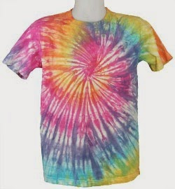 Tie Dye Spiral Acid House T-shirt