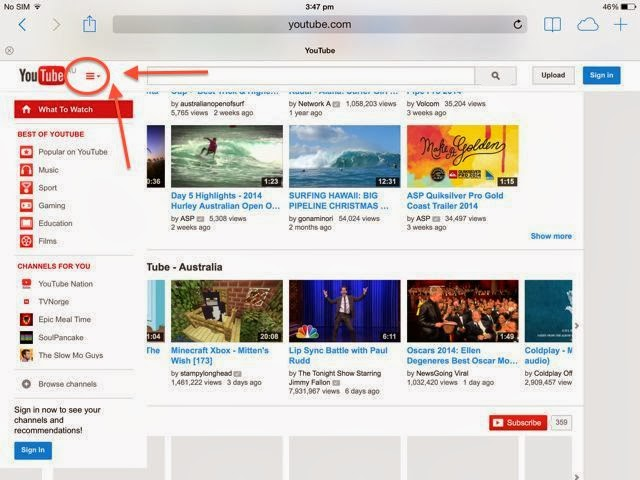 HSC Tech HELP Online: Creating A Youtube Channel