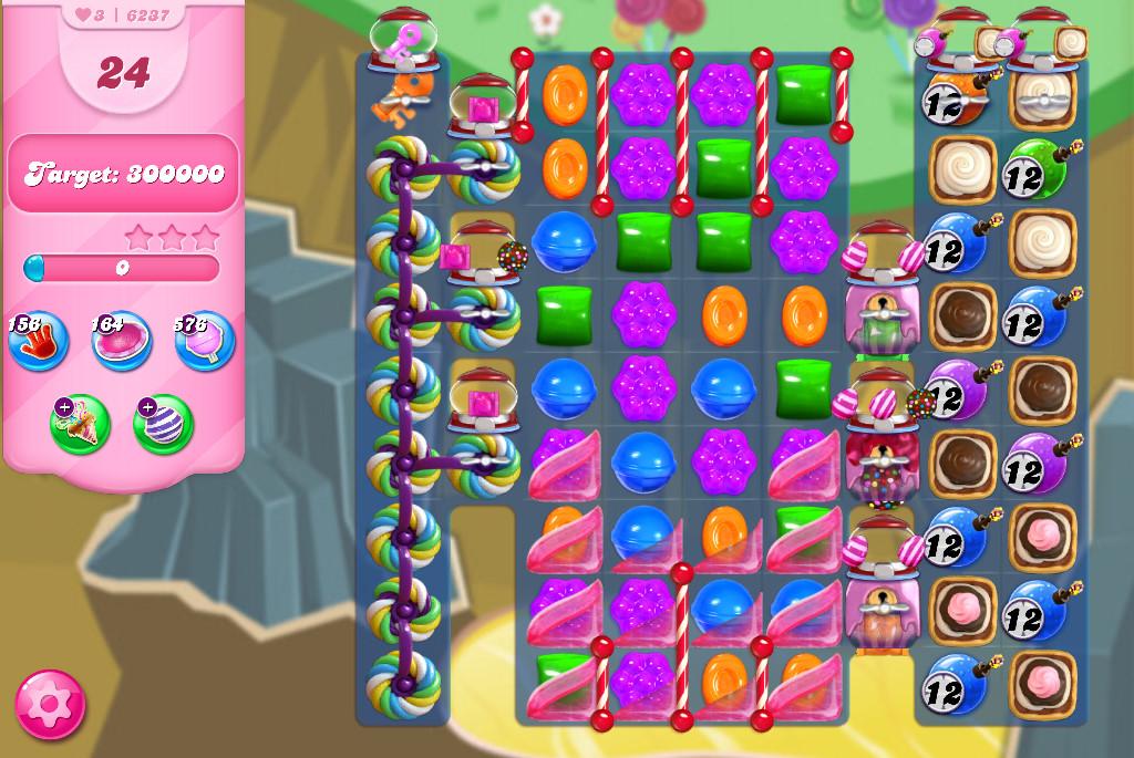 Candy Crush Saga level 6237