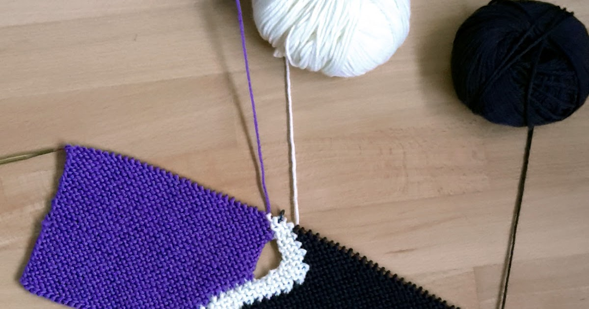 Knitting Intarsia : Knitting and so on another intarsia experiment