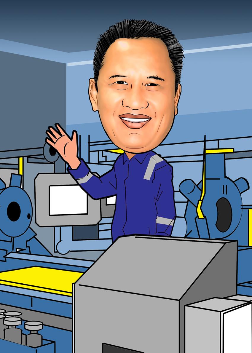 PESAN KARIKATUR MURAH Karikatur Untuk Bos Yang Resign