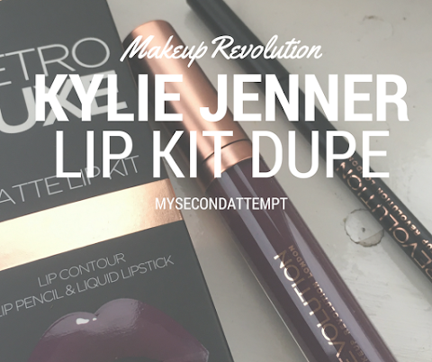 The Kylie Lip Kit Dupe? Makeup Revolution Retro Luxe Matte Lip Kit