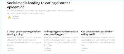 blogging platform medium