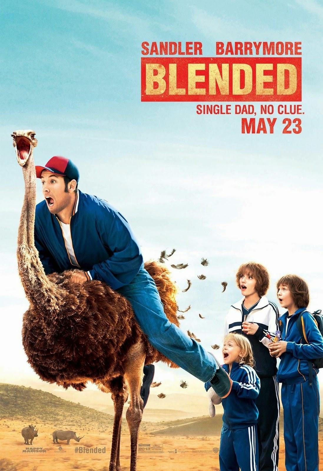 Blended (2014) ทริปอลวน รักอลเวง [HD][พากย์ไทย]