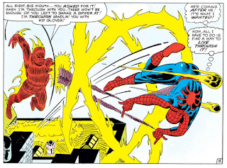 Spider-Man versus the Human Torch