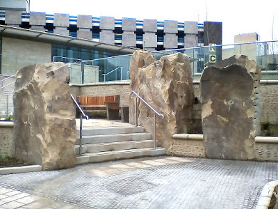 Charter Square, Sheffield, Standing Stones in the Heart of the City 2 development, Children of the Stones, Escape into Night