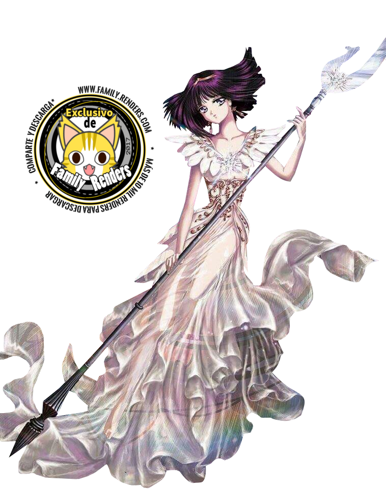 render Hotaru Tomoe - Sailor Saturn,