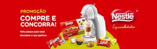 """Promoção """"Nestlé Especialidades combina com Nescafé Dolce Gusto"""""""