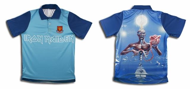 a856da8b71 As Camisas de Futebol do Iron Maiden - IRON MAIDEN 666 - BRASIL