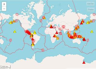ALERTA MUNDIAL: los volcanes siguen despertando en varias partes del planeta.