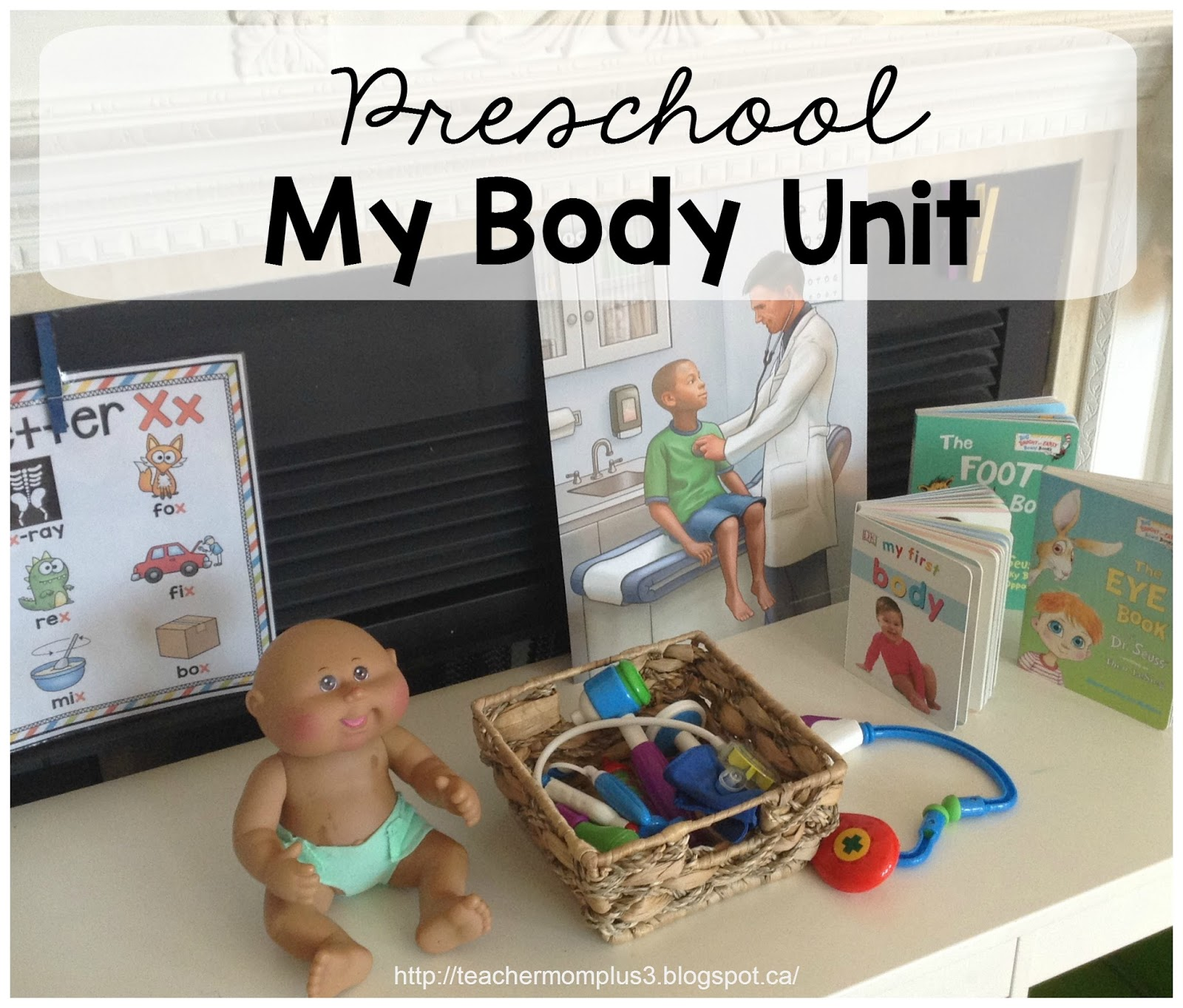 Teachermomplus3 Preschool My Body Unit