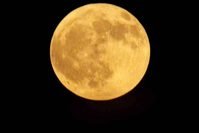 full moon,Kin Town, Okinawa