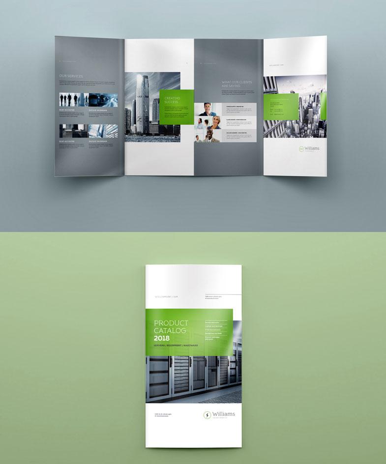 Brochure Mock-Up PSD