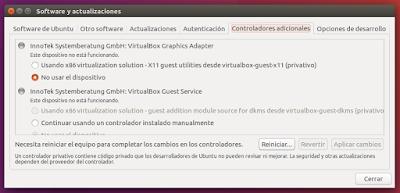 Software y actualizaciones Controladores adicionales