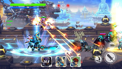 Download Game Heroes Infinity: God Warriors Mod (Infinite Money) Offline gilaandroid.com